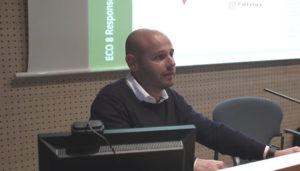 Incovi a la presentació del projecte Construcció Connectada al Col·legi d'Arquitectes de Girona