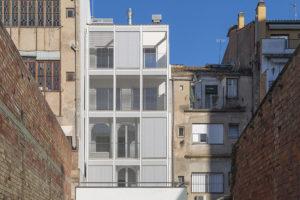 Finalitzada la rehabilitació energètica de l'edifici de Ronda Ferran Puig nº 7 de Girona